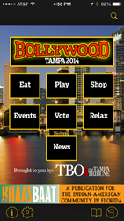 Bollywood Tampa 2014 Visitor Guide iPhone App