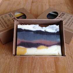 Mountain Rainbow Soap from notoxlife.com
