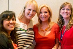 Kathie Lee Gifford poses with attendees of the 2013 American Mothers National Conference