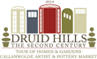 2014 Druid Hills Tour of Homes & Gardens Logo