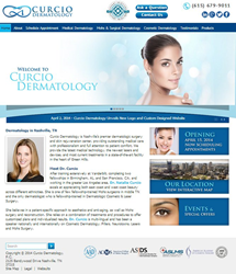 Websults Completes New Website for Curcio Dermatology