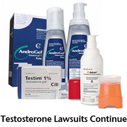 Testosterone Treatment Lawsuits