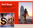 "Artist-Animator Donna Kay Lau ""Surf Soup"" Ocean Conservation Project..."