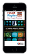 conference app for heart rhythm with CME tracking