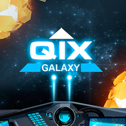 QIX GALAXY is a free-to-play sci-fi arcade game packed with intergalactic adventures