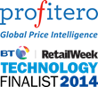 Profitero Is Shortlisted For The BT Retail Week Technology Awards 2014