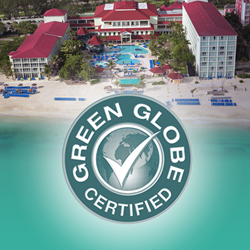 Breezes Bahamas Earth Day Every Day Green Globe Recipient