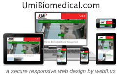 UMI Florida Medical Waste Experts launch Responsive Web Design
