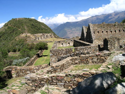 Choquequirao Ruins in Peru