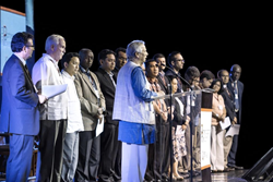 Closing ceremony of the 2013 Partnerships against Poverty Summit in Manila, Philippines