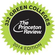 Princeton Review Green Colleges 2014