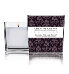 Creative Energy Candle French Fig Amber MiBellaReina.com