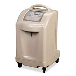 Glass working oxygen concentrator