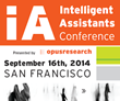 "Debut Conference To Tackle Opportunities for ""Siri-like"" Intelligent..."