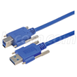 USB 3.0 Vision Cable Assemblies - Type A and B with Thumbscrews