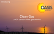 Oasis Energy Now Offers 100% Carbon Offset Natural Gas with Launch of...