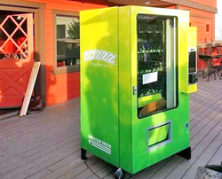 Zazzz marijuana vending machine