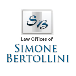 Business Logo for Law Offices of Simone Bertollini