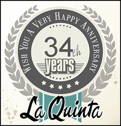 La Quinta celebrates its 32nd year with gala celebrations