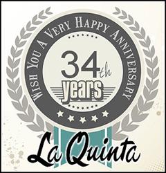 La Quinta celebrates its 32nd year with gala celebrations