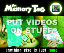 Put Videos on Stuff. Anything else is just lame.