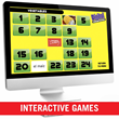 Voces contains multiple interactive digital games to help reinforce all vocabulary sets.