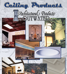 Things Are Looking Up at Outwater with the Introduction of Many New Decorative Ceiling Panels