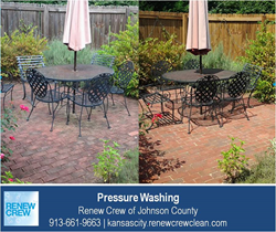 Pressure Washing Kansas City - Renew Crew of Johnson County