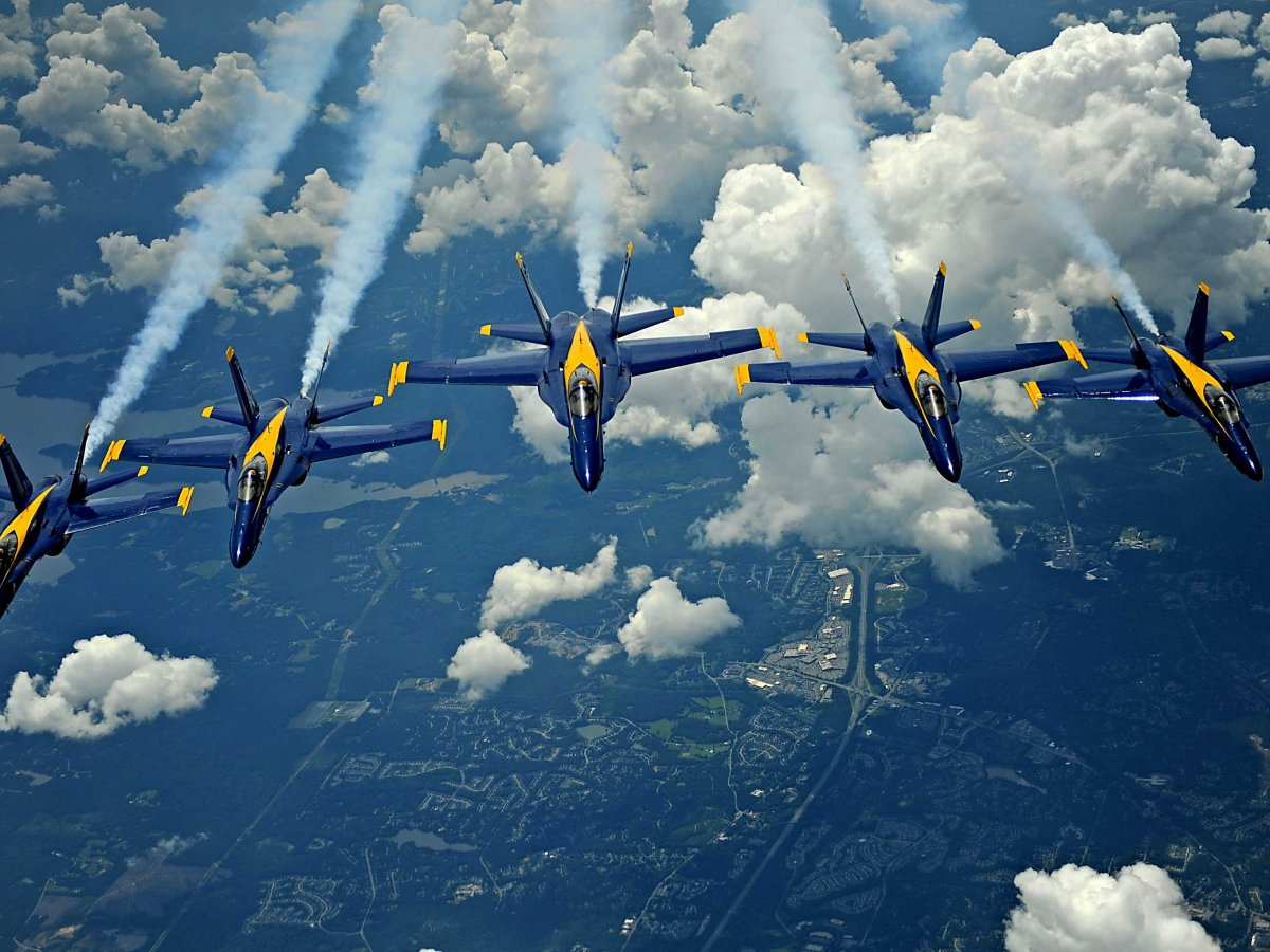 The Blue Angels Set To Fly High At The Vero Beach Air Show