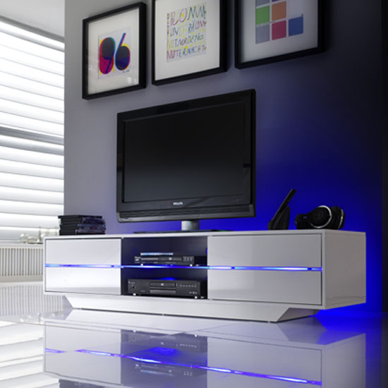Sienna Tv Stands For Flat Screens With Led Lights