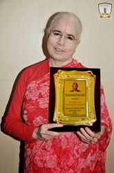 Charitable Organization Supported by Radha Madhav Dham receives Nelson Mandela Peace Award