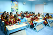 JKP Education, supported by Radha Madhav Dham, gives 100% free education from Kindergarten to Graduate and Postgraduate