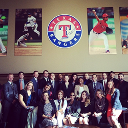 The Connect DFW Team Attends Orientation with the Texas Rangers