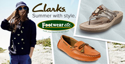 New Spring 2014 Clarks Shoes and Sandals now at Footwear etc.