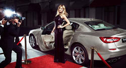 Hedia Klum - Sports Illustrated - Maserati
