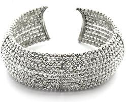 Officina Bernardi Sterling Silver cuff bracelet