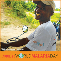 World Malaria Day 2014 Badge from Episcopal Relief & Development