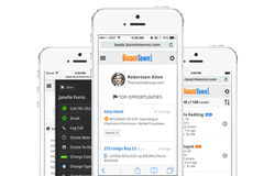 BoomTown's Mobile CRM