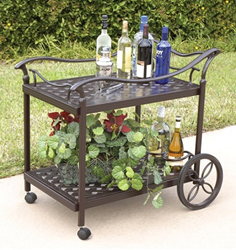 AFD GF-LD1031X Charleston Tea Cart
