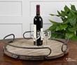 Uttermost Acela Round Wine Tray 19727
