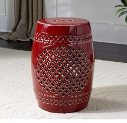 Uttermost Peizhi Ceramic Garden Stool 24603