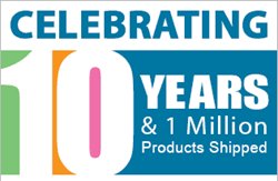Celebrating 10 Years and 1 Millions Blinds Sold