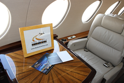 Falcon 50 Cabin