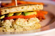 Duke's Crab Club Sandwich