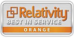 Relativity Best in Service Logo