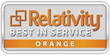 Iris Data Services Receives Relativity Orange-level Best in Service Designation