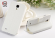 samsung galaxy s4 cell phone radiation case shielded flip cover white kick stand