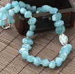 High Quality Gemstone Necklace Now Available on Beijing Ayong Jewelry Store