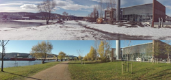 The Neatpump is an energy efficient large district heat pump in Drammen, Norway