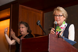 Susan Glasgow, Executive Director of The Hearing and Speech Agency